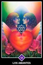 6 - Los Amantes - Arcanos Mayores del Tarot Osho Zen