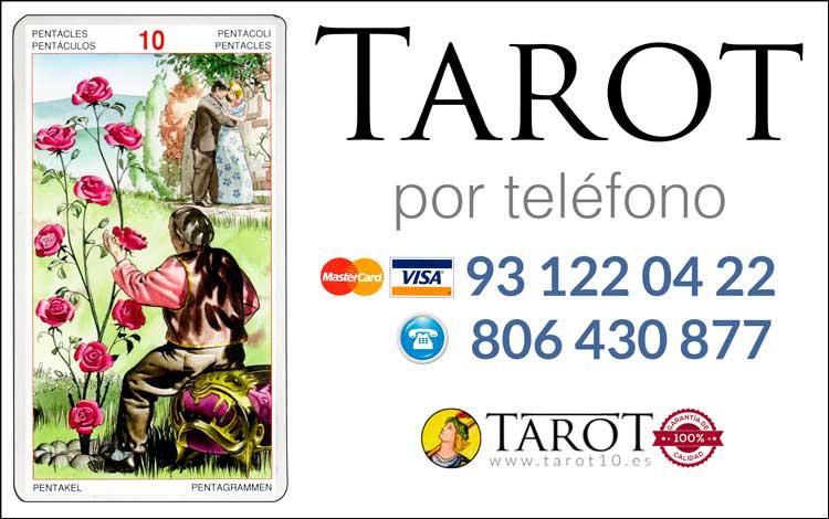 Aprender Tarot y Cartomancia - Tarot por teléfono - Tarot10