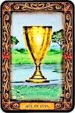 As de Copas - Arcanos Menores - Tarot10
