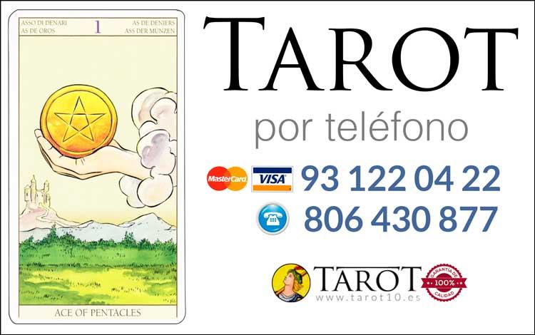 As de Oros de los Arcanos Menores del Tarot - Tarot por Teléfono