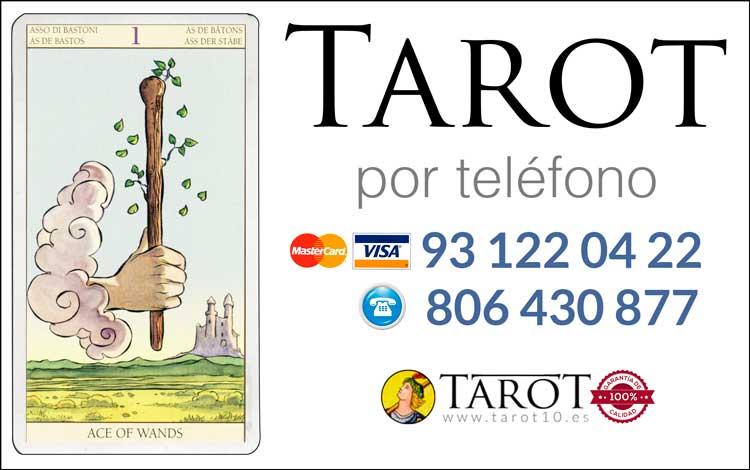 Bastos de los Arcanos Menores del Tarot - Tarot por Teléfono