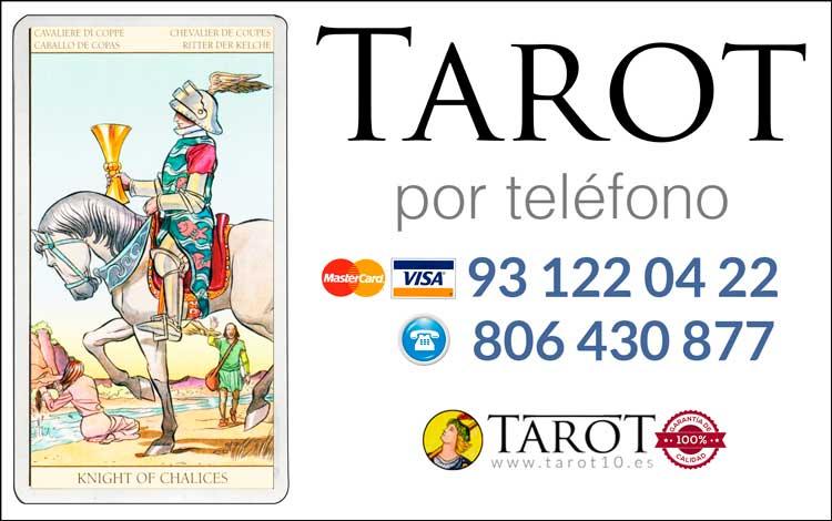 Caballo de Copas de los Arcanos Menores del Tarot - Tarot por Teléfono