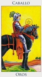 Caballo de Oros - Arcanos Menores del Tarot - Radiant