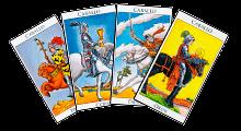Caballos de los Arcanos Menores del Tarot - GRID