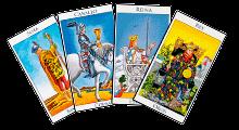 Cartas de la Corte de los Arcanos Menores del Tarot - GRID