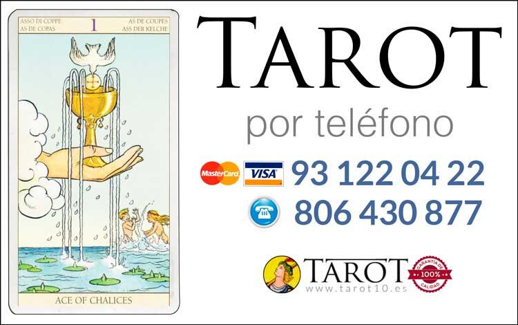 Copas de los Arcanos Menores del Tarot - Tarot por Teléfono