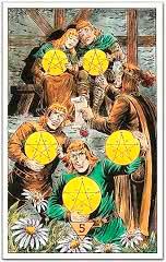 El 5 de Oros en el Amor - Tarot10