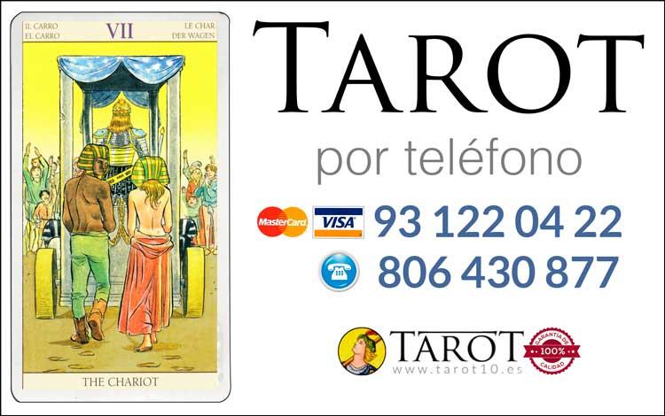 El Carro - Arcanos Mayores - Tarot por Teléfono