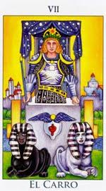 EL CARRO - IV - Arcanos Mayores del Tarot