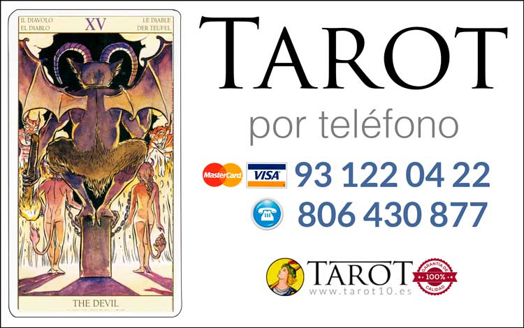El Diablo - Arcanos Mayores - Tarot por Teléfono