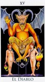 El Diablo - Arcanos Mayores del Tarot - Radiant