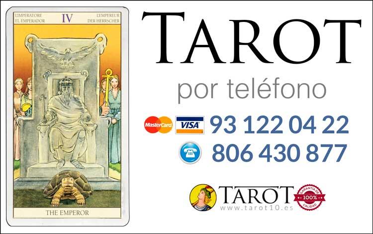 El Emperador - Arcanos Mayores - Tarot por Telefono