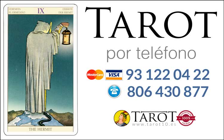 El Ermitaño - Arcanos Mayores - Tarot por Teléfono