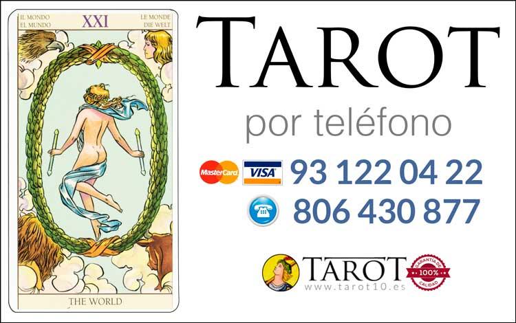 El Mundo - Arcanos Mayores - Tarot por Teléfono