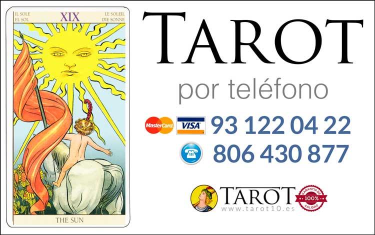 El Sol - Arcanos Mayores - Tarot por Teléfono