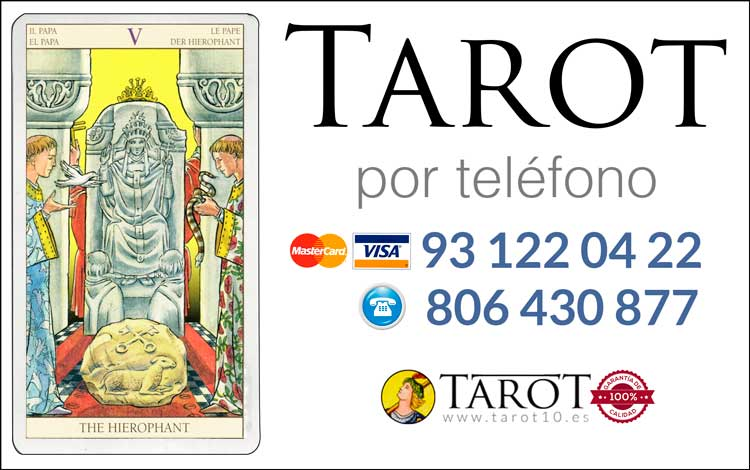 El Sumo Sacerdote - Arcanos Mayores - Tarot por Teléfono