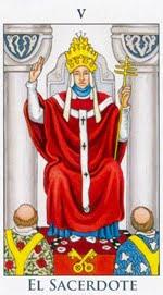 El Sumo Sacerdote - Arcanos Mayores del Tarot - Radiant