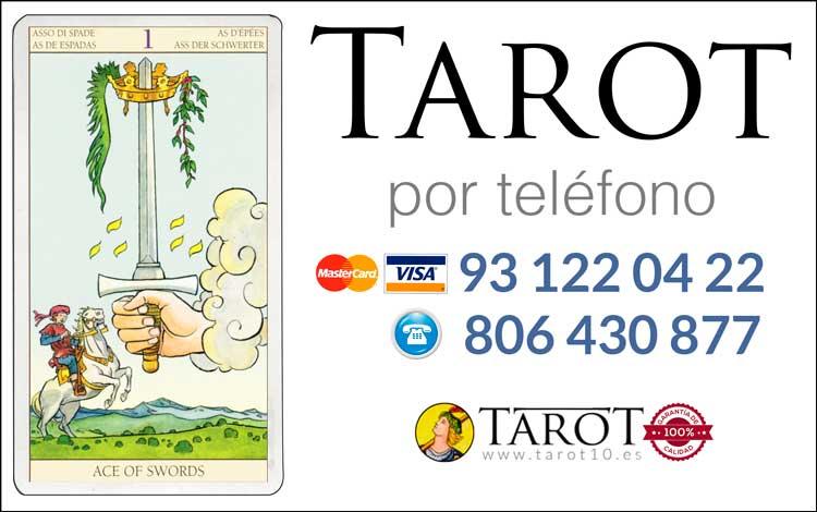 Espadas de los Arcanos Menores del Tarot - Tarot por Teléfono