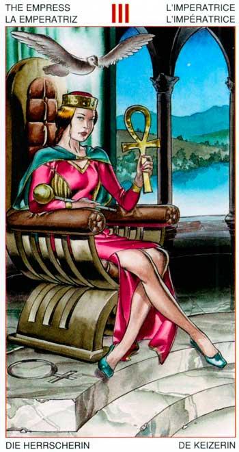 La Emperatriz - Arcanos Mayores - Golden Dawn Tarot