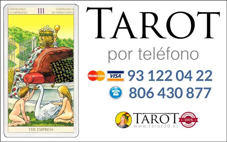 La Emperatriz - Arcanos Mayores - Tarot por Teléfono