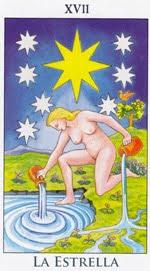 La Estrella - Arcanos Mayores del Tarot - Radiant