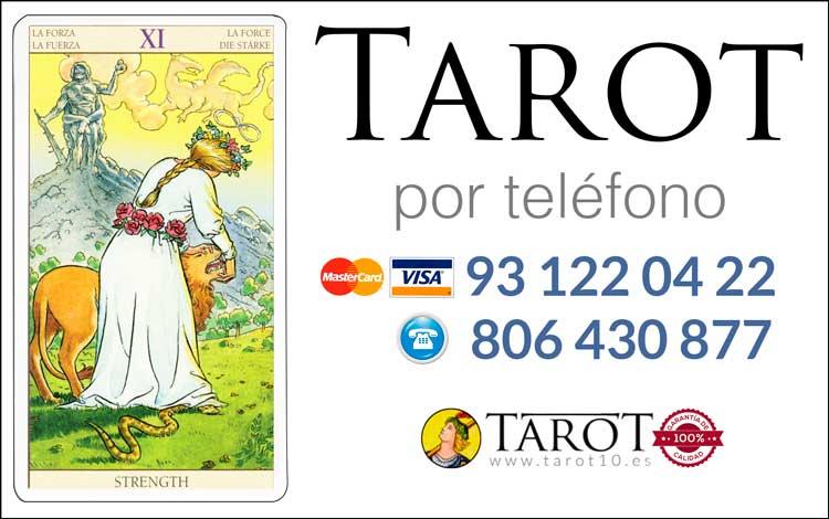 La Fuerza - Arcanos Mayores - Tarot por Teléfono