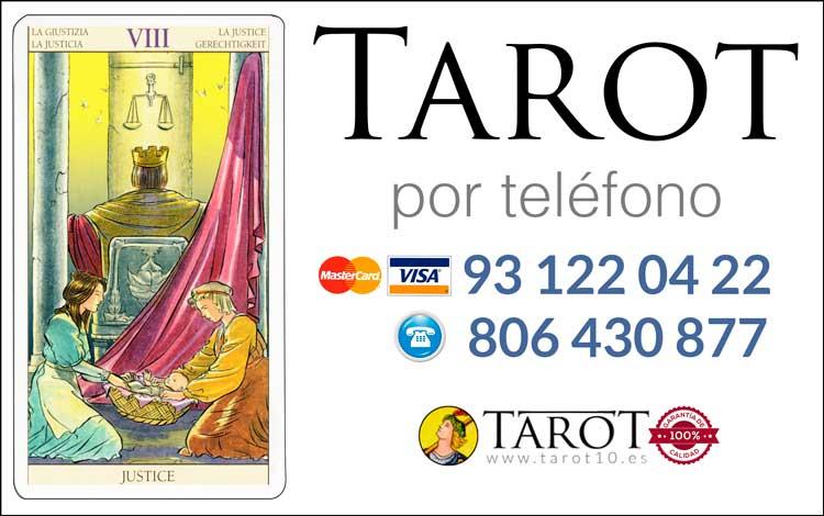 La Justicia - Arcanos Mayores - Tarot por Teléfono