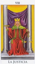 La Justicia - Arcanos Mayores del Tarot - Radiant