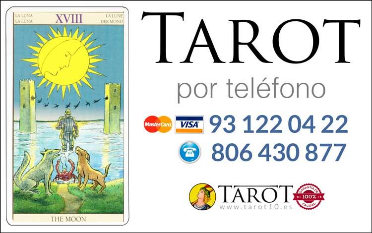 La Luna - Arcanos Mayores - Tarot por Teléfono