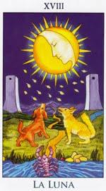 La Luna - Arcanos Mayores del Tarot - Radiant