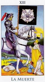 La Muerte - Arcanos Mayores del Tarot - Radiant