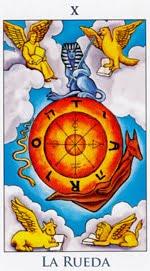 La Rueda de la Fortuna - Arcanos Mayores del Tarot - Radiant
