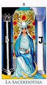 La Suma Sacerdotisa o Papisa - Arcanos Mayores del Tarot - Radiant