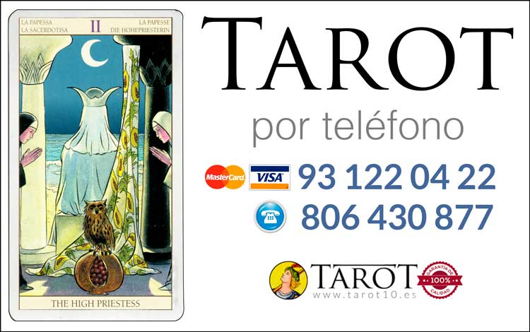 La Suma Sacerdotisa o Papisa - Arcanos Mayores - Tarot por Teléfono