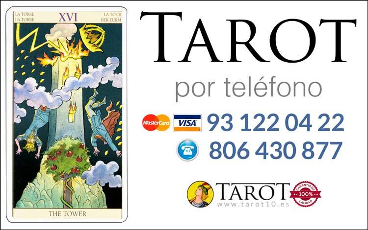 La Torre - Arcanos Mayores - Tarot por Teléfono
