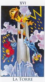 La Torre - Arcanos Mayores del Tarot - Radiant