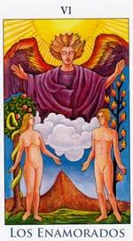 Los Enamorados - Arcanos Mayores del Tarot - Radiant