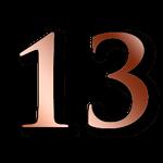 Número 13 - Números Kármicos de la Numerología - tarot10