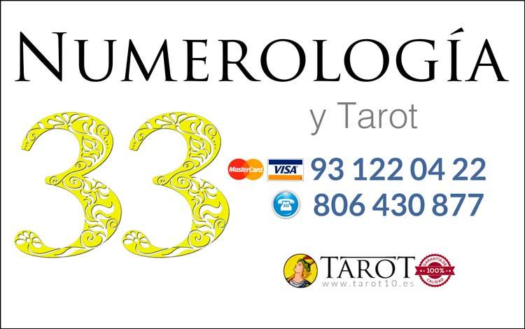 Número 33 - Números Maestros - Numerología y Tarot por Teléfono - Tarot10
