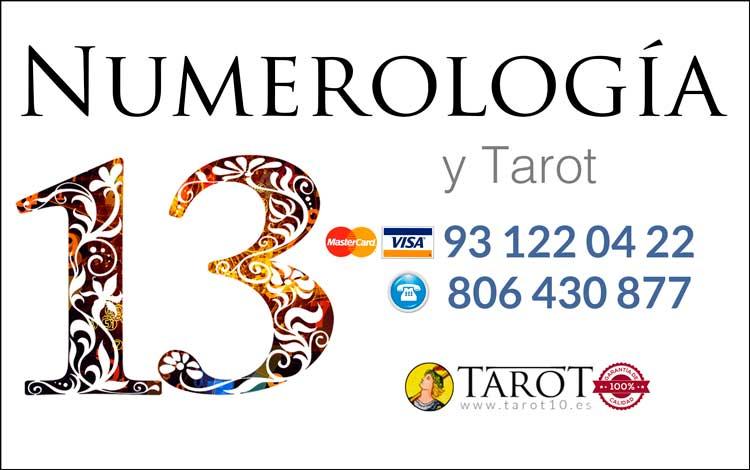 Numero Kármico 13 - Números Kármicos - Numerología y Tarot por Teléfono - Tarot10