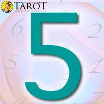 Numerología Cinco - Tarot10