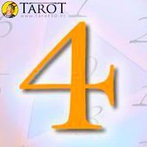 Numerología Cuatro - Tarot10
