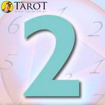 Numerología Dos - Tarot10