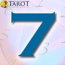 Numerología Siete - Tarot10