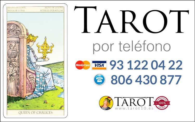 Reina de Copas de los Arcanos Menores del Tarot - Tarot por Teléfono