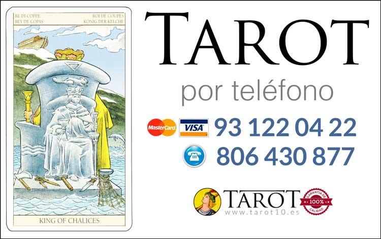 Rey de Copas de los Arcanos Menores del Tarot - Tarot por Teléfono