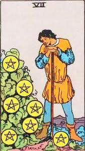 Significado del 7 de Oros - Tarot10