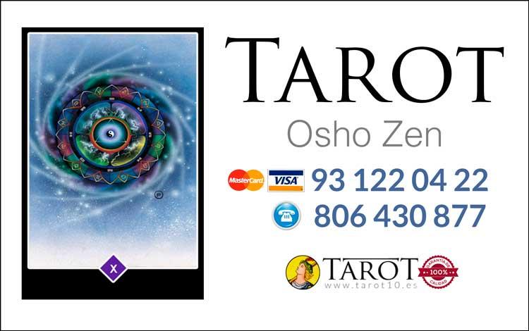 Tirada del Amor Zen del Tarot Osho Zen por Telefono - Tarot10