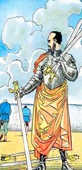 5 de Espadas en posición invertida - Tarot10