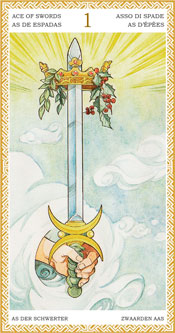 As de Espadas - Arcanos Menores del Tarot